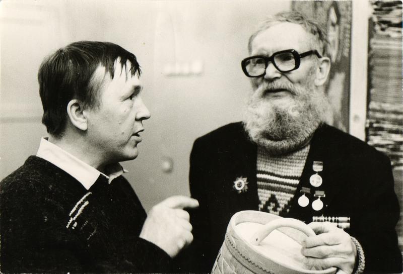 М.С.Кочев с Овериным Семеном Ильичом