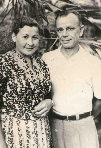 Николай Михайлович Дьяконов и его жена Мария Степановна